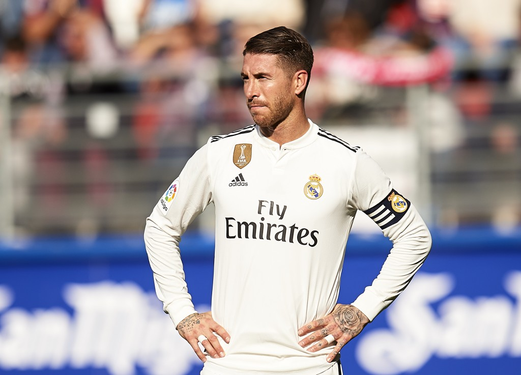 A week to forget for Ramos. (Photo by Juan Manuel Serrano Arce/Getty Images)