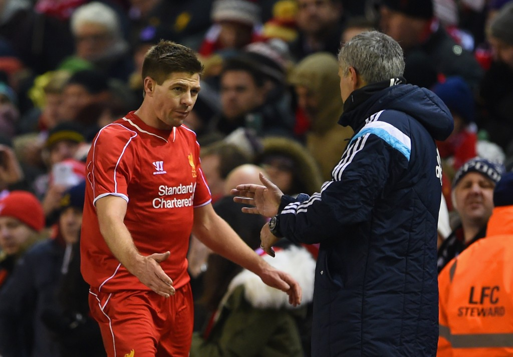 Liverpool legend Gerrard has given his backing to Mourinho. (Photo by Michael Regan/Getty Images)