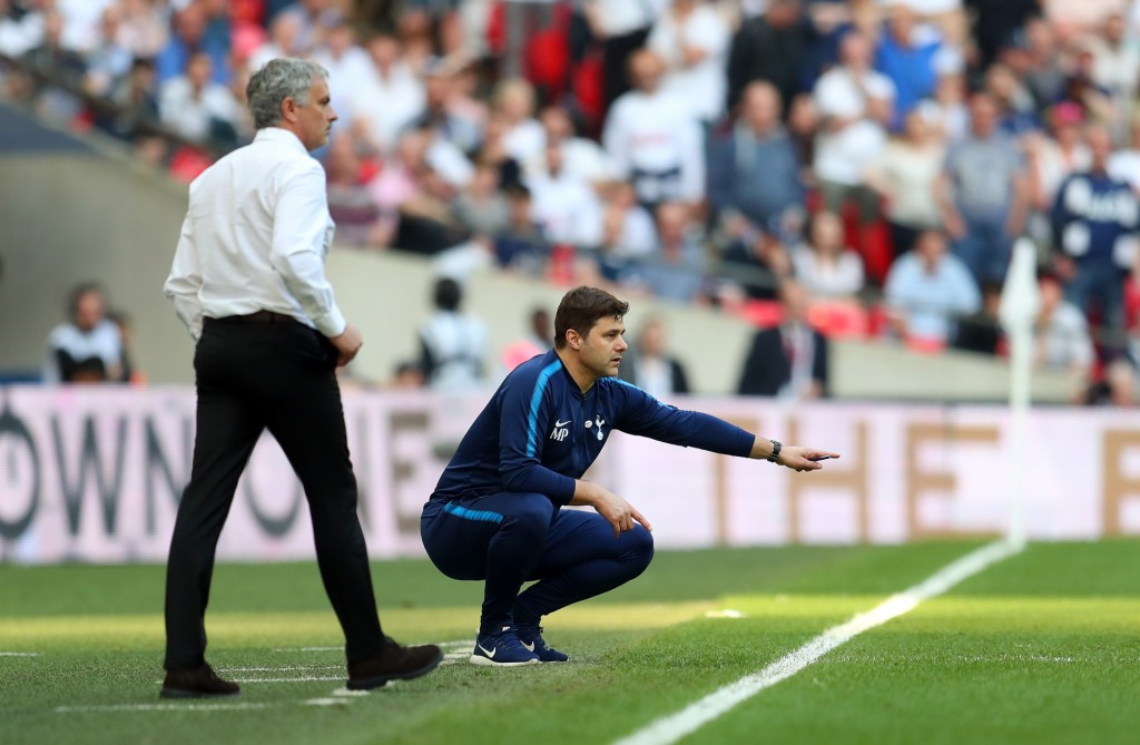 Could Pochettino end up replacing Mourinho at Manchester United? (Photo by Catherine Ivill/Getty Images)