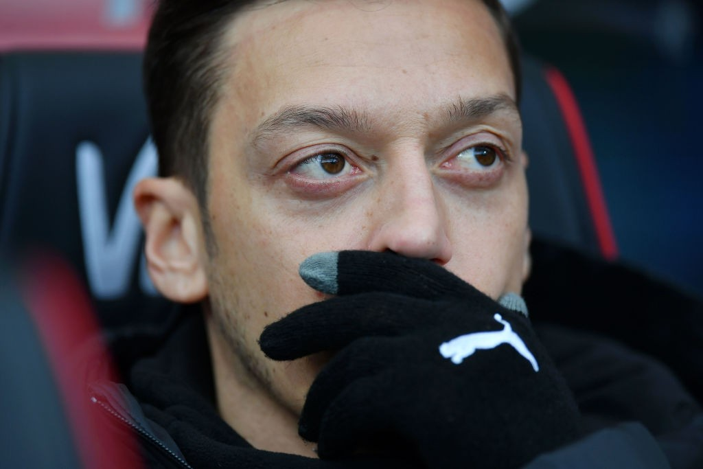 Mesut Ozil will be key to Arsenal's chances against Tottenham at the Emirates. (Photo courtesy: AFP/Getty)