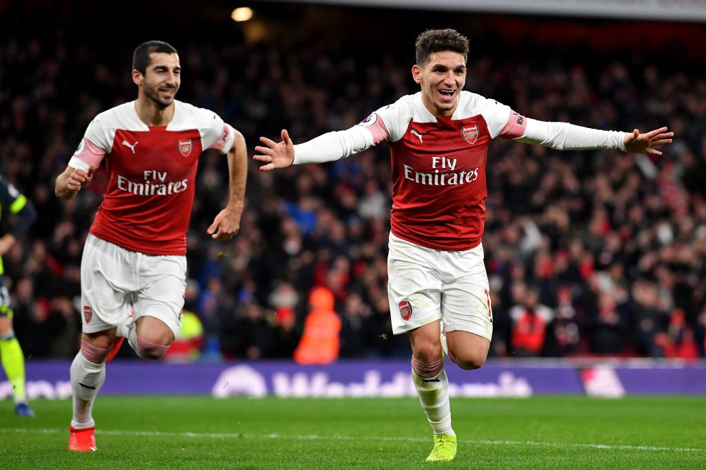 The Pint Sized Dynamo! Lucas Torreira is on on the rise with some top notch performances for Arsenal. (Photo courtesy: AFP/Getty)