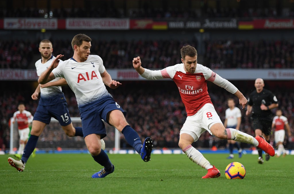 Ramsey came on from the bench to provide for two Arsenal goals. (Photo courtesy: AFP/Getty)