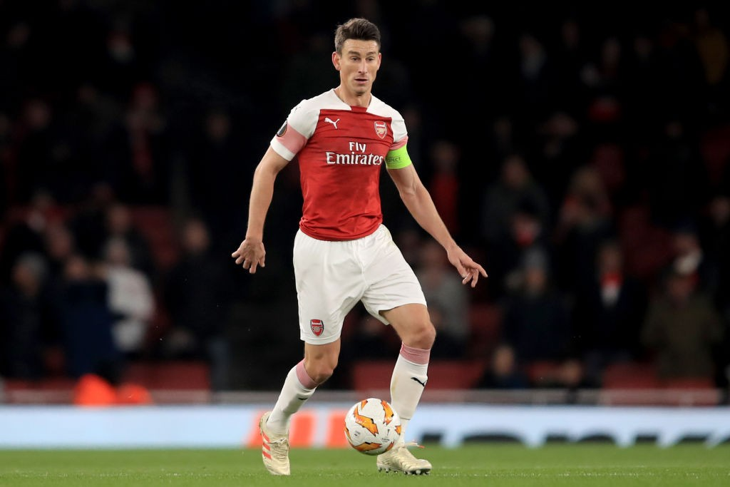 Laurent Koscielny made his return from injury against Qarabag/ (Photo courtesy: AFP/Getty)