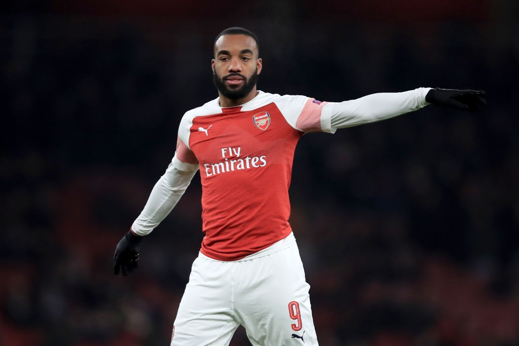 Lacazette's solitary first half strike was enough to ensure all three points for Arsenal. (Photo courtesy: AFP/Getty)
