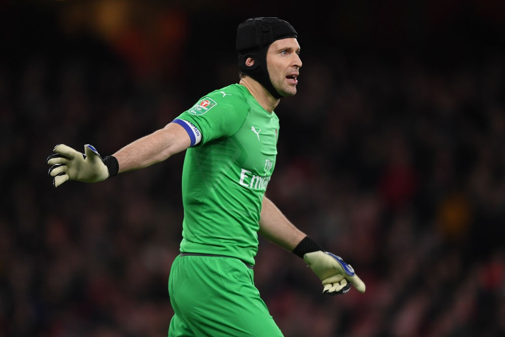 Petr Cech could leave Arsenal at the end of the season. (Photo courtesy: AFP/Getty)