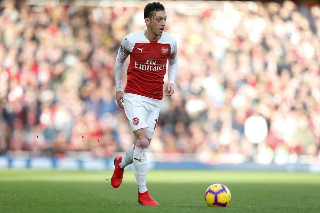 Ozil produced a creative masterclass of a performance to help Arsenal beat Burnley. (Photo courtesy: AFP/Getty)