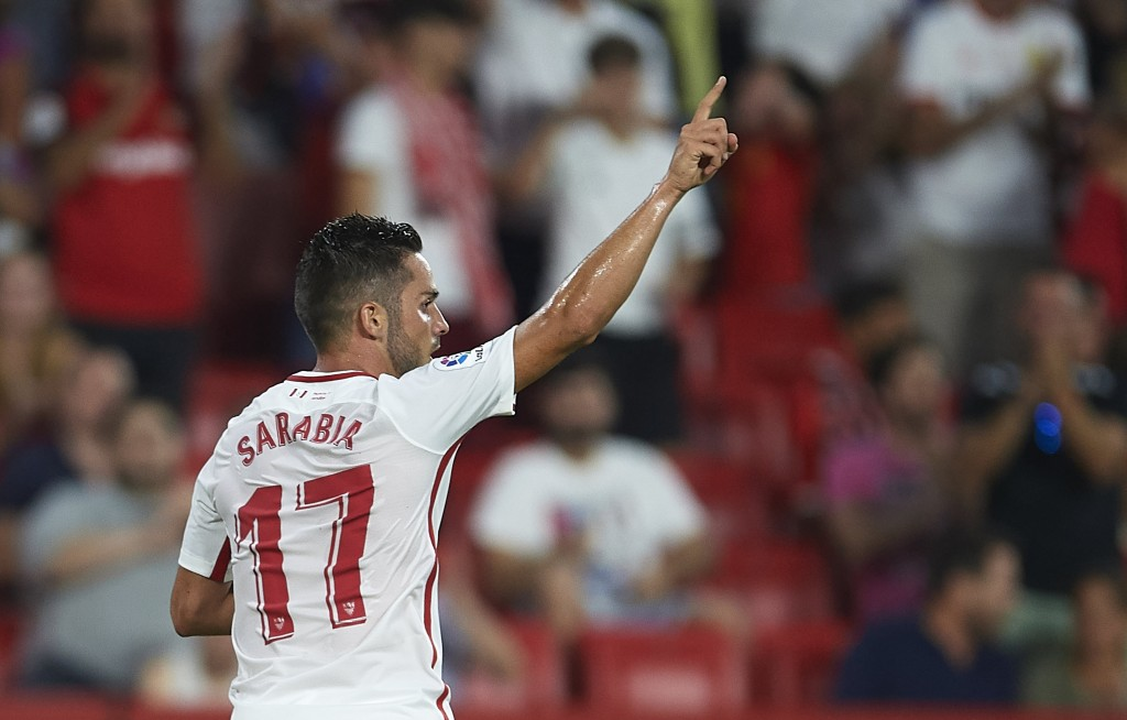 Sevilla's master key for most locked defences. (Picture Courtesy - AFP/Getty Images)