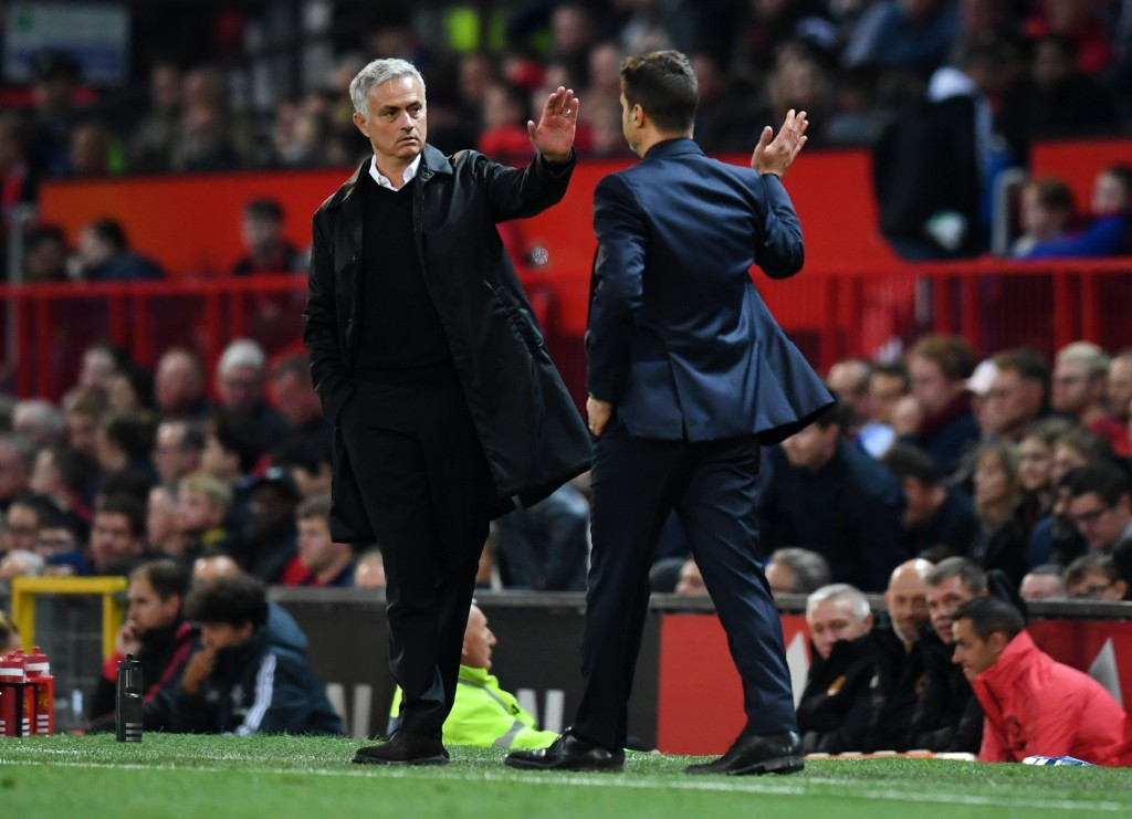 Will Pochettino be replacing Mourinho soon? (Photo by Michael Regan/Getty Images)