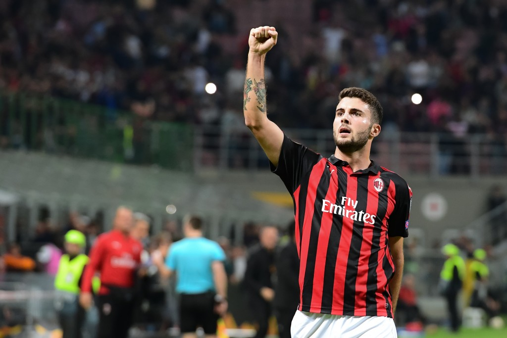 Will Cutrone fire Milan to a win on Thursday? (Photo by MIGUEL MEDINA/AFP/Getty Images)