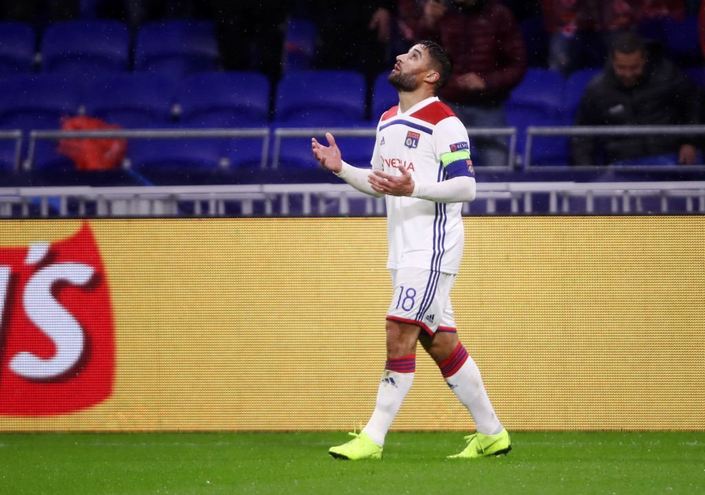 Can Fekir inspire Lyon to qualify for the Round of 16? (Photo by Alex Grimm/Getty Images)