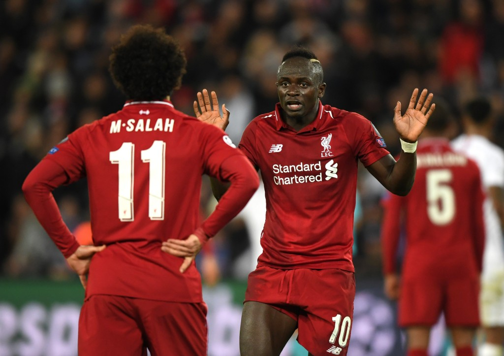 Mane and Salah will have to step up after a subdued outing in Paris. (Photo by Shaun Botterill/Getty Images)