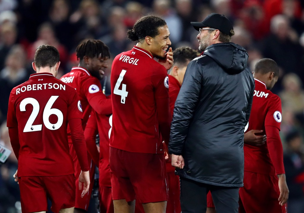 Virgil van Dijk will be Jurgen Klopp's go-to man on Tuesday. (Photo by Clive Brunskill/Getty Images)