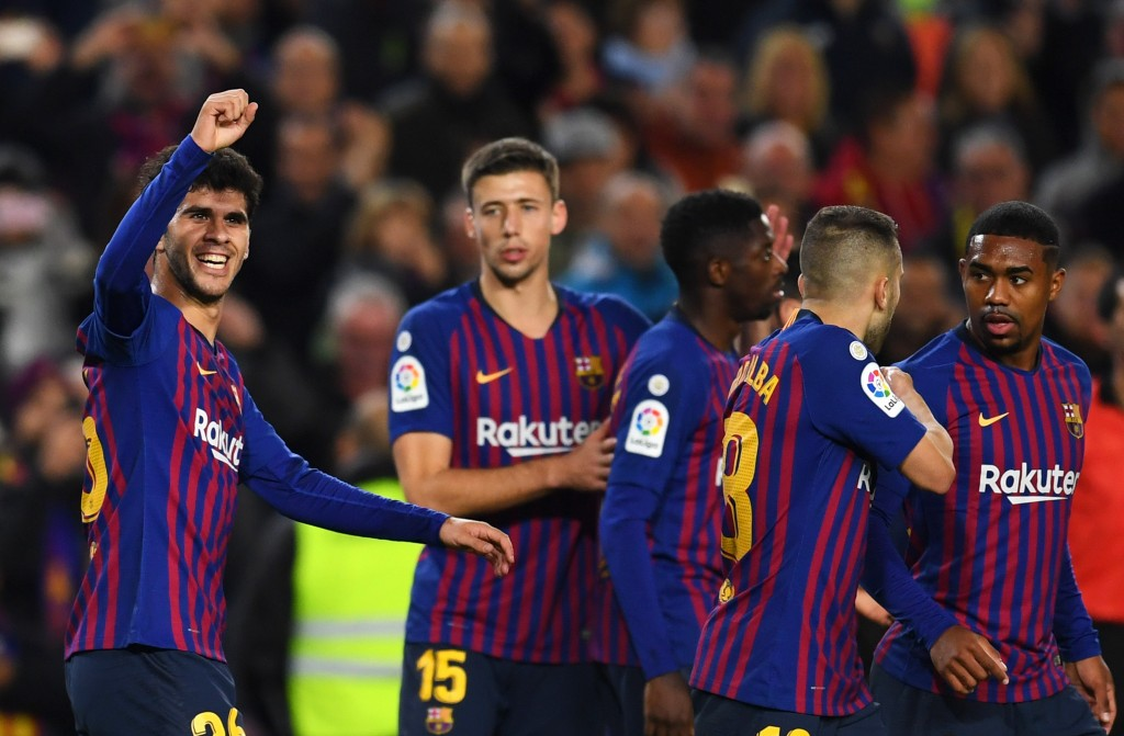 Barcelona will be hoping to build on the momentum from their 2-0 win over Villarreal. (Photo by David Ramos/Getty Images)
