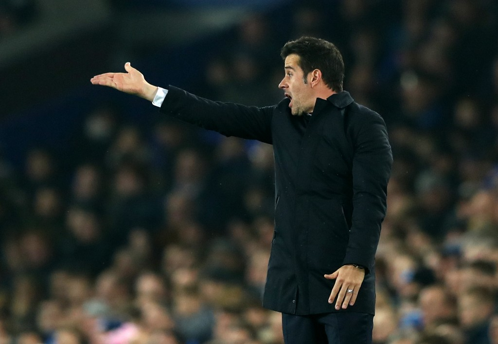 Marco Silva needs to rally his men as they seek to end their four-game winless run. (Photo by Matthew Lewis/Getty Images)