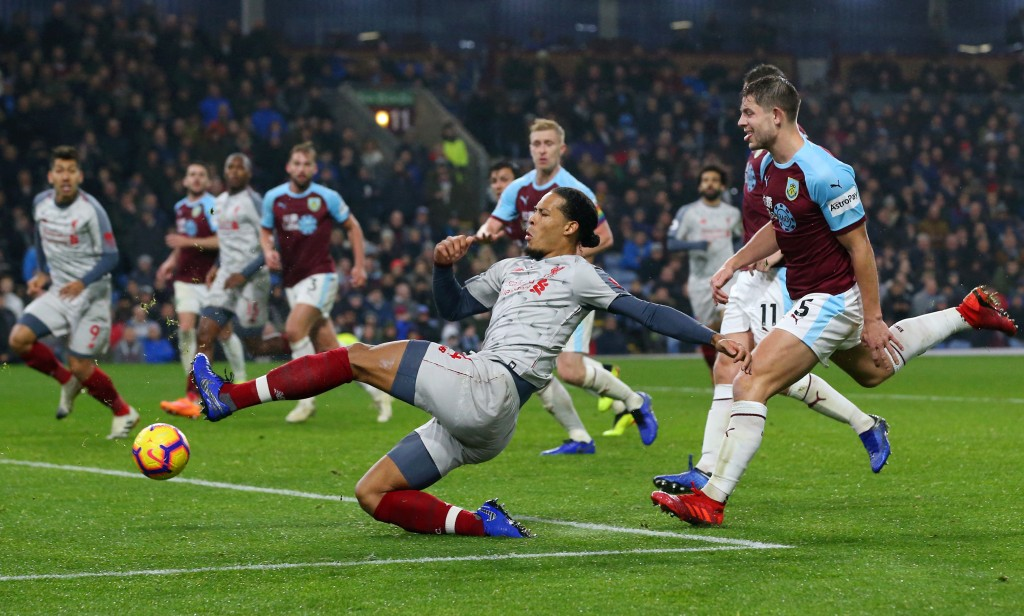van Dijk impresses again (Photo by Alex Livesey/Getty Images)