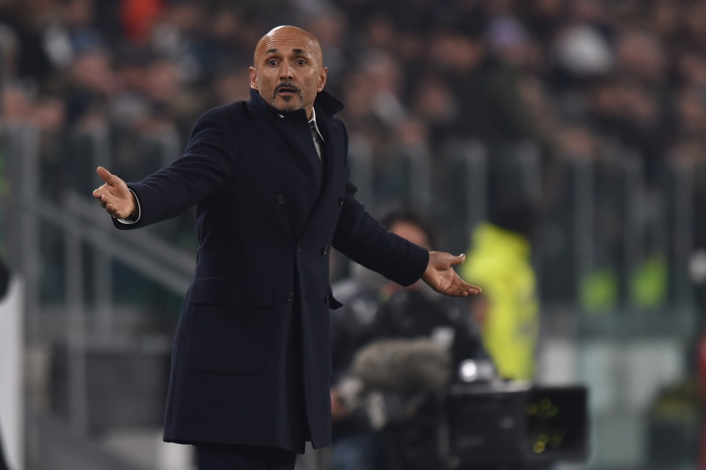 Luciano Spalletti will have to marshall his troops after the disappointing loss to Juventus. (Photo by Tullio M. Puglia/Getty Images )