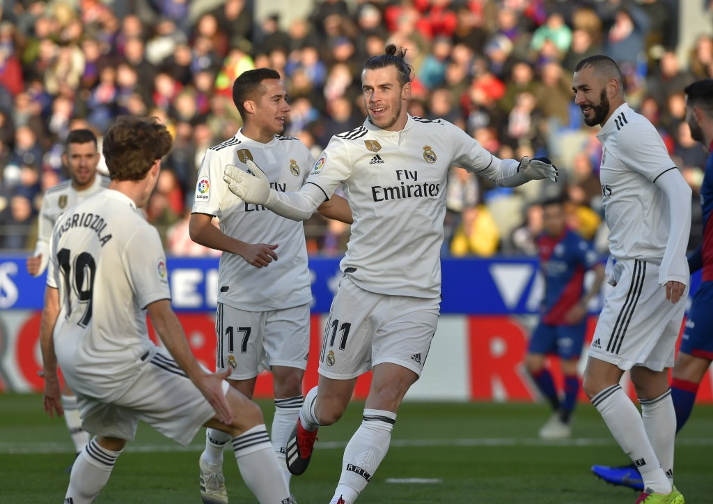 Real Madrid continued their winning run this past weekend. (Photo by Ander Gillenea/AFP/Getty Images)