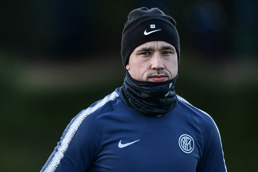 Will Nainggolan come to the party against PSV? (Photo by Miguel Medina/AFP/Getty Images)
