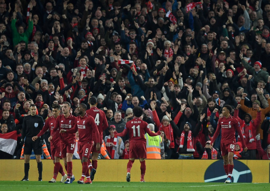 Liverpool will come into the match in high spirits following their Round of 16 qualification in the UEFA Champions League. (Photo by Paul Ellis/AFP/Getty Images)