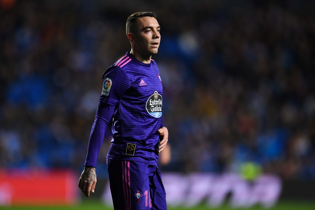 Will Aspas join the party once again? (Photo by David Ramos/Getty Images)