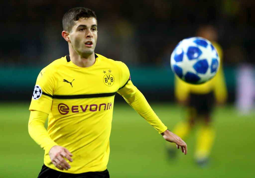 Chelsea are stepping up their interest in Christian Pulisic. (Photo by Martin Rose/Getty Images)