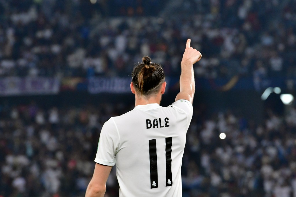 Will Bale create history on Saturday? (Photo by Giuseppe Cacace/AFP/Getty Images)