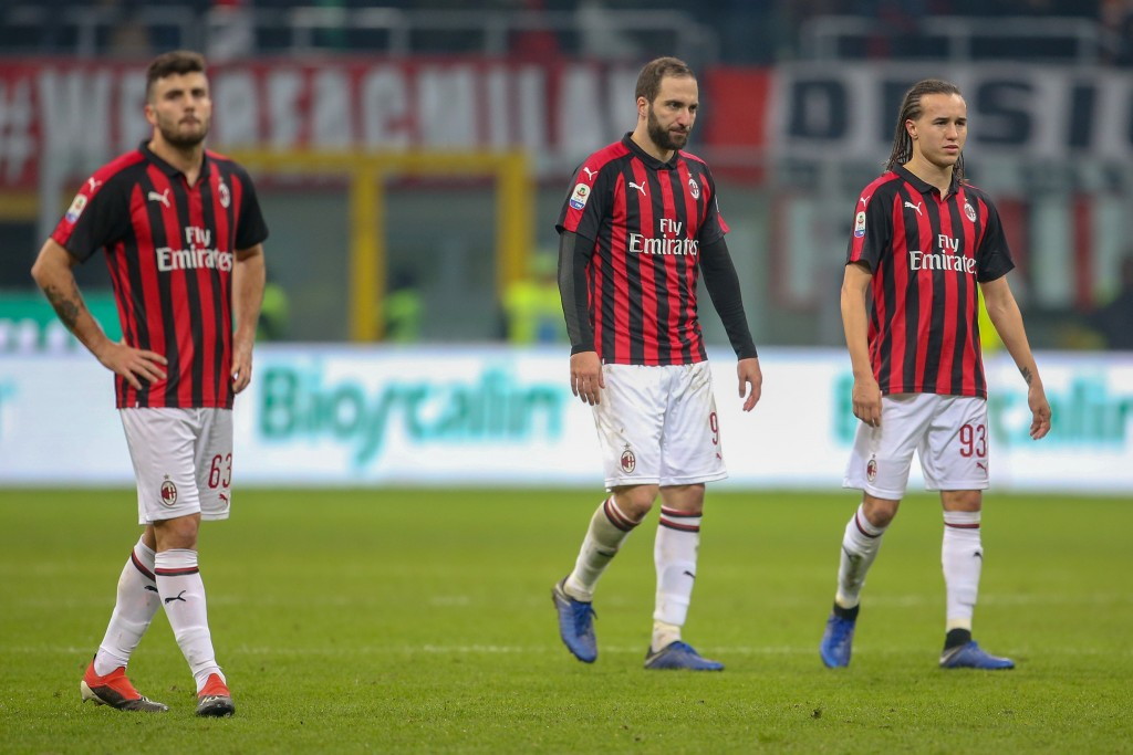 AC Milan are in a rut that they desperately need to get out of. (Photo by Getty Images/Getty Images)