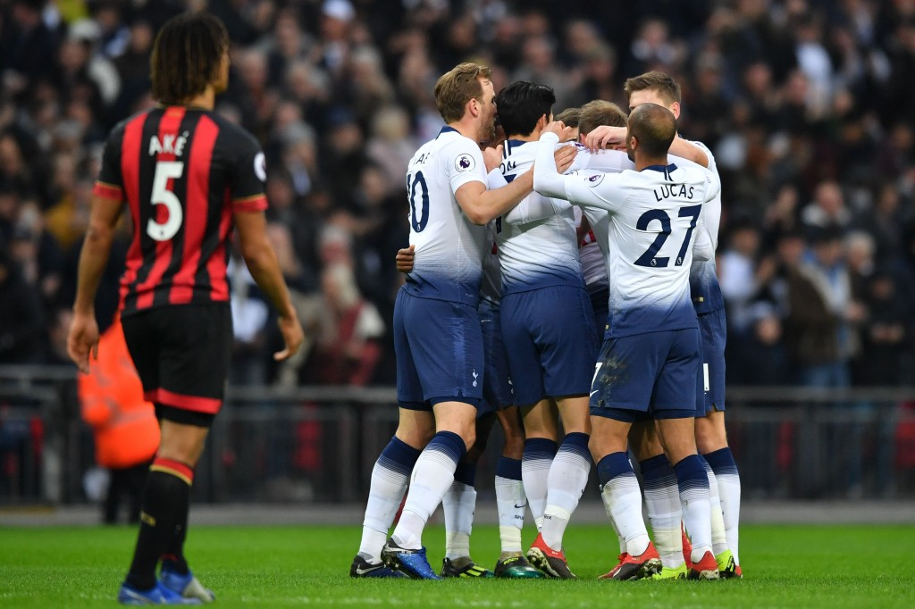 Tottenham have been on a roll lately. (Photo by Ben Stansall/AFP/Getty Images)