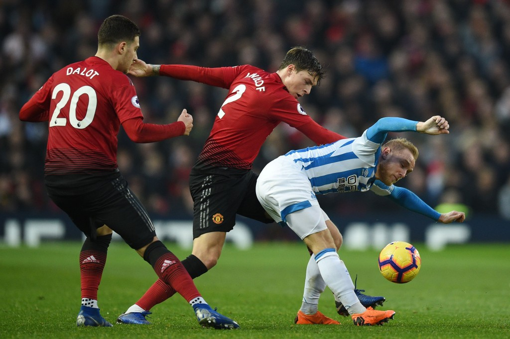 Another positive performance by Lindelof. (Photo by Oli Scarff/AFP/Getty Images)