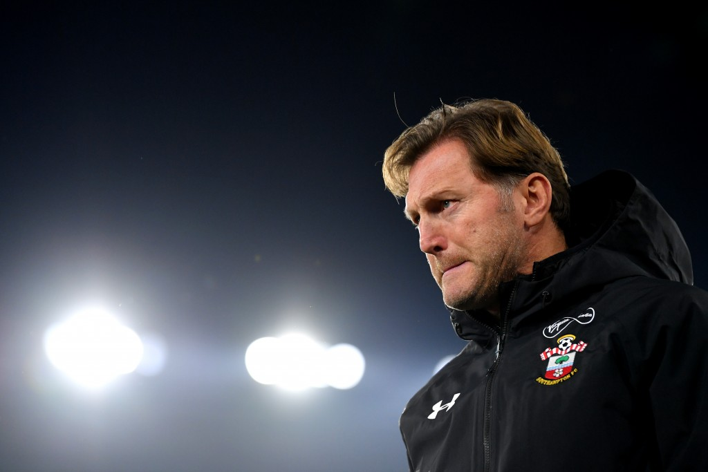 Ralph Hasenhuttl needs to rally his troops after the 2-1 loss to West Ham United. (Photo by Dan Mullan/Getty Images)