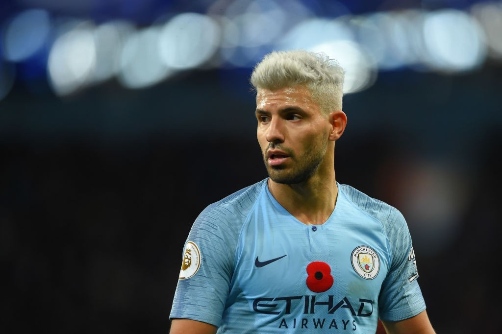 Sergio Aguero: a player for the record books. (Photo courtesy: AFP/Getty)