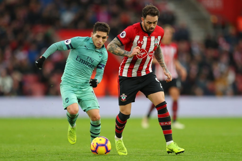 Torreira performed well despite his side's shortcomings against Southampton. (Photo by Catherine Ivill/Getty Images)