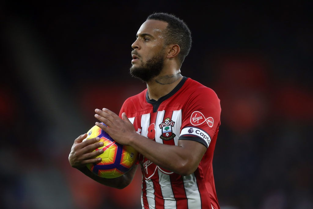 Ryan Bertrand could return to action for Southampton against Arsenal. (Photo courtesy: AFP/Getty)