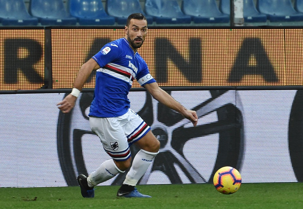 Fabio Quagliarella has scored i each of his last eight appearances. (Photo courtesy: AFP/Getty)