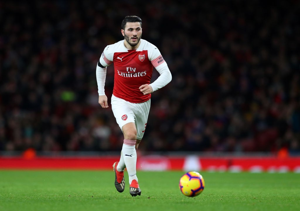 Kolasinac was back to his attacking self against Fulham. (Photo courtesy: AFP/Getty)
