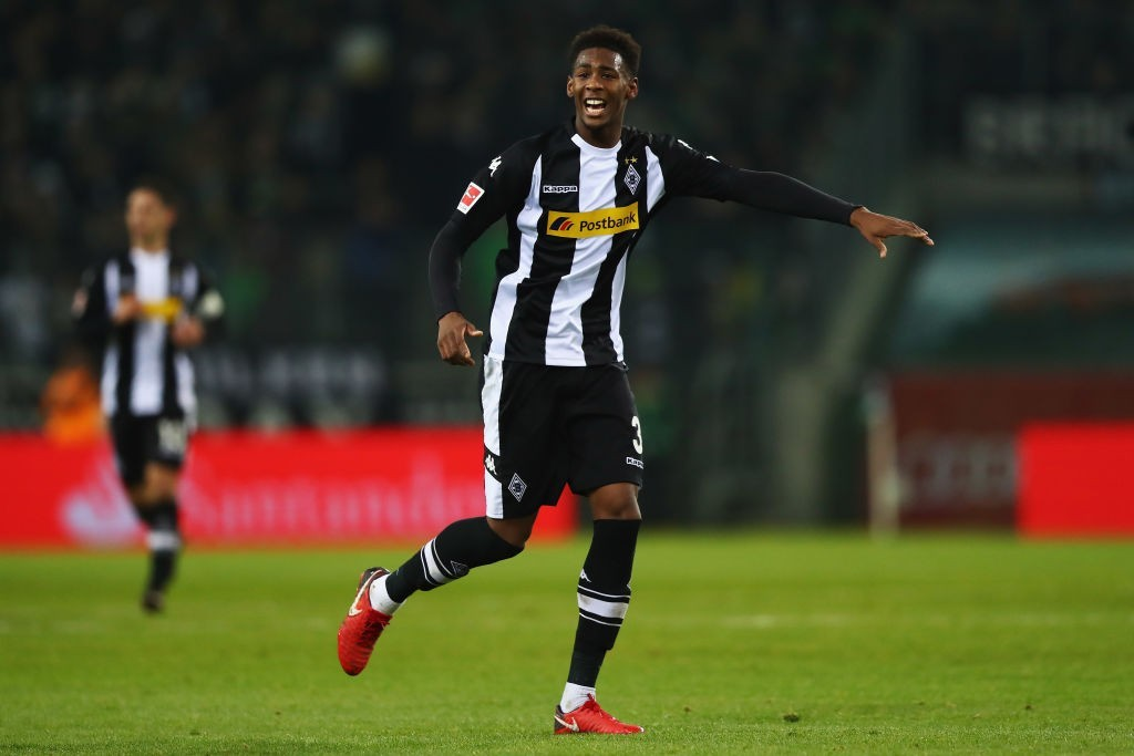 Reece Oxford spent two years on loan at Borussia Monchengladbach. (Photo by Dean Mouhtaropoulos/Bongarts/Getty Images)