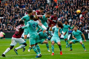 Arsenal player ratings vs West Ham: Lacklustre Gunners pegged back by Hammers