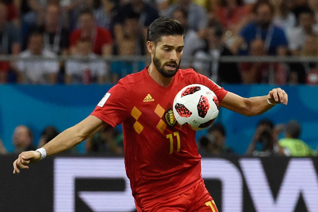 Arsenal want to sign former Atlerico Madrid winger Yannick Carrasco from the Chinese Super League. (Photo courtesy: AFP/Getty)