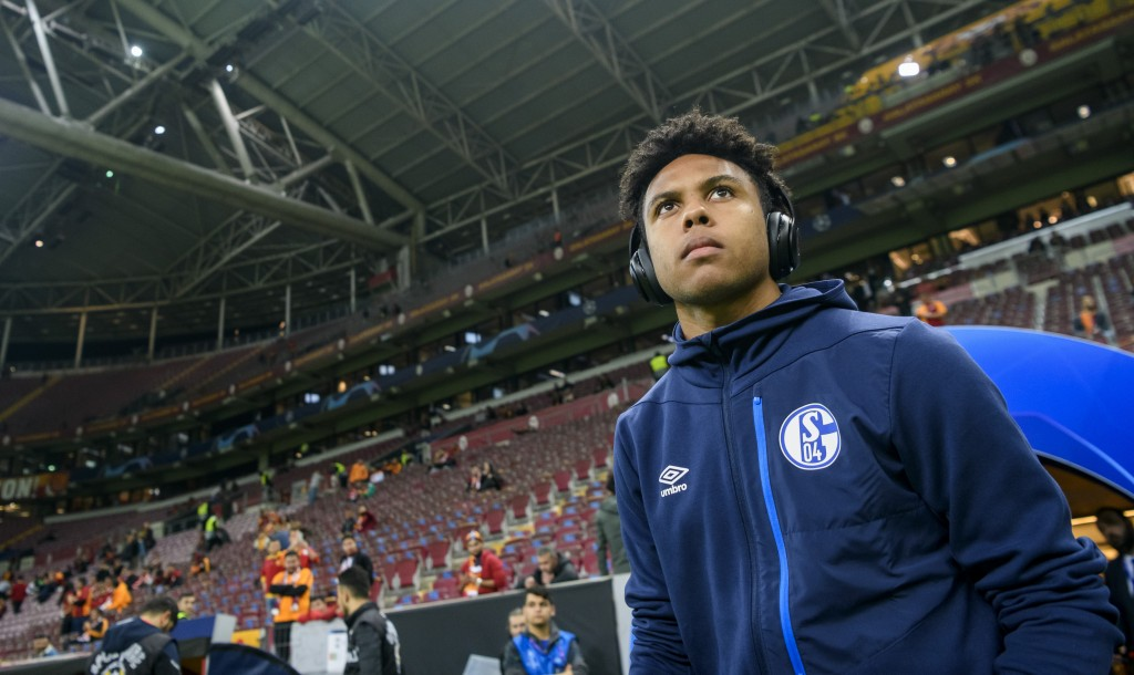 ISTANBUL, TURKEY - OCTOBER 24: Weston McKennie of Schalke is seen prior to the Group D match of the UEFA Champions League between Galatasaray and FC Schalke 04 at Turk Telekom Arena on October 24, 2018 in Istanbul, Turkey. (Photo by Alexander Scheuber/Bongarts/Getty Images)
