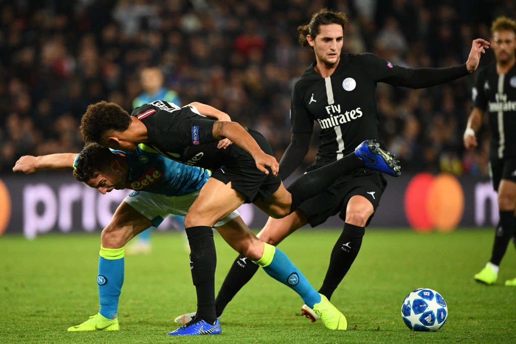 Rabiot's future remains up in the air. (Photo by Franck Fife/AFP/Getty Images)