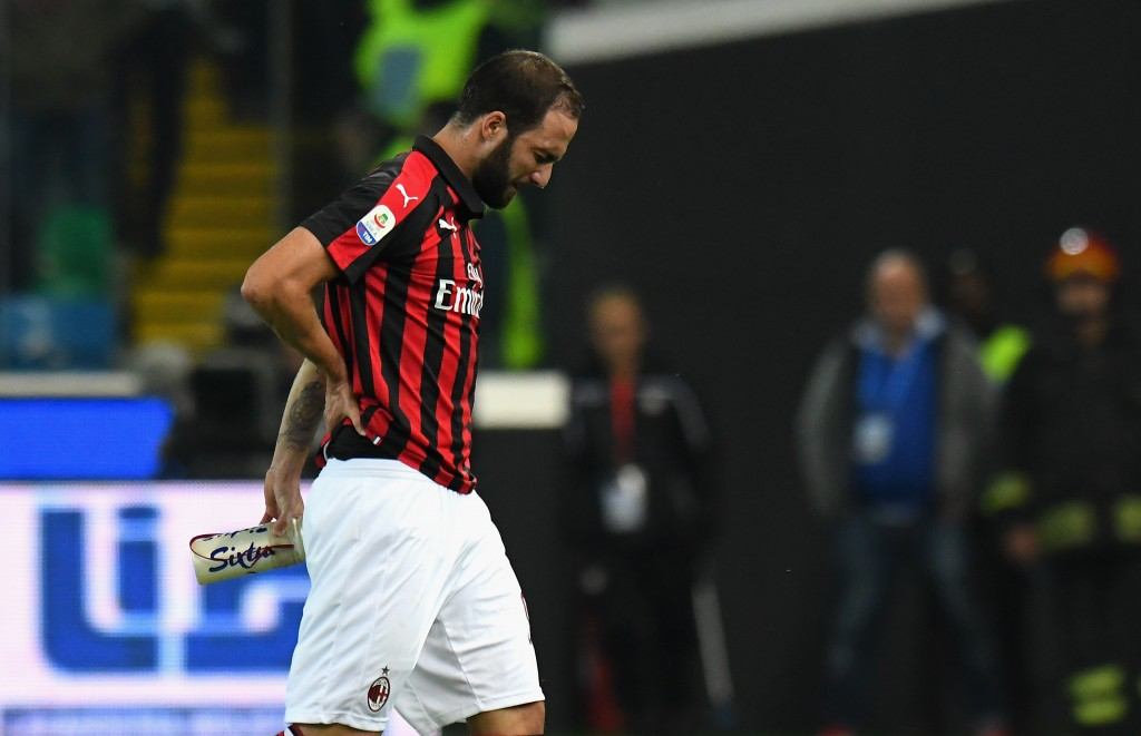 What does the future hold for Higuain? (Photo by Alessandro Sabattini/Getty Images)