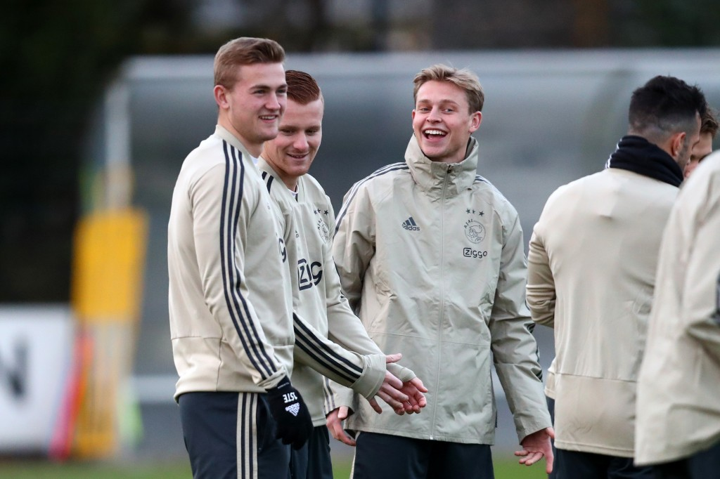 Will de Ligt continue to be teammates with Frenkie de Jong at Barcelona? (Photo by Dean Mouhtaropoulos/Getty Images)