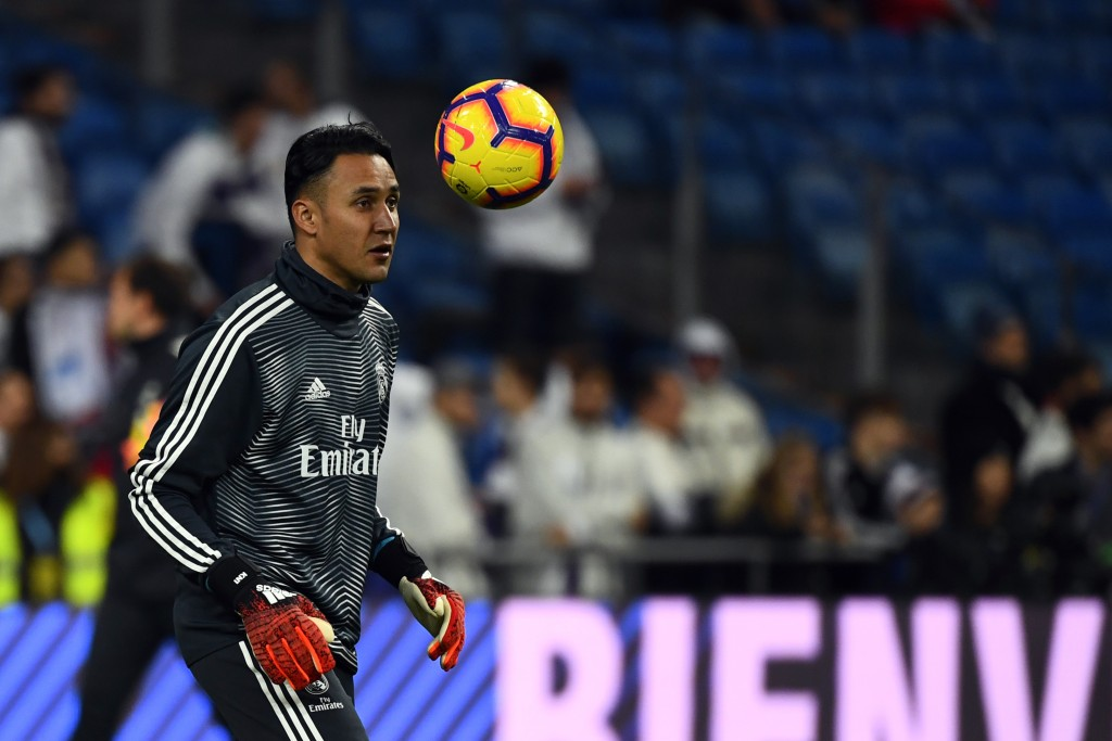 Arsenal 'make £14m bid for Real Madrid keeper Keylor Navas'