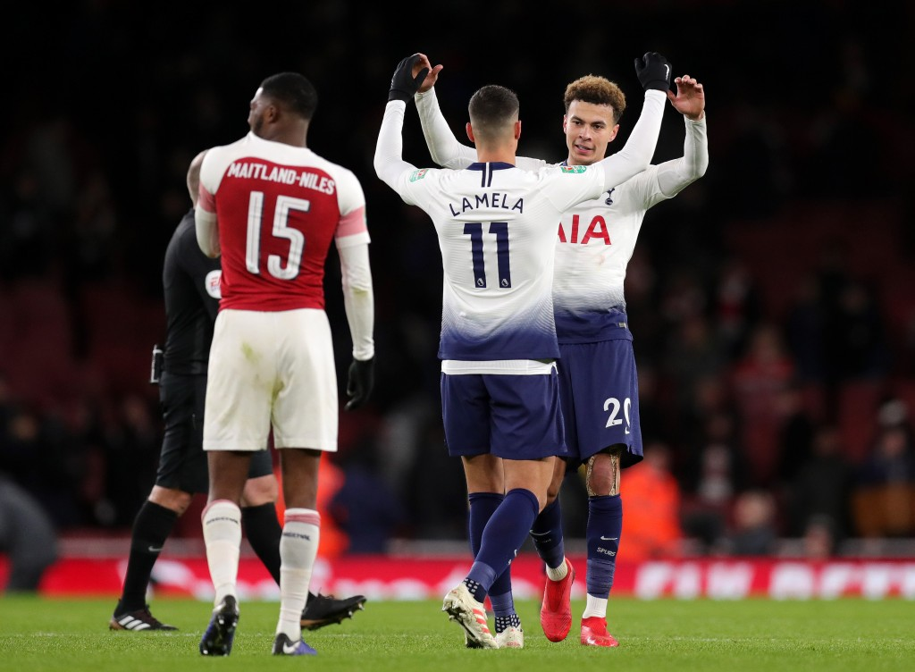 Tottenham progressed through to the Carabao Cup semi-finals on the back of a big win over Arsenal. (Photo by Alex Morton/Getty Images)
