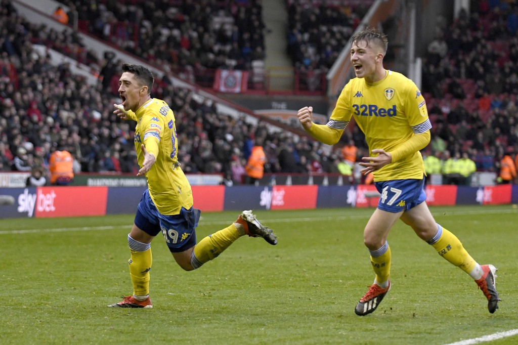 Enjoying a remarkable breakthrough campaign under Marcelo Bielsa at Leeds United. (Picture Courtesy - AFP/Getty Images)
