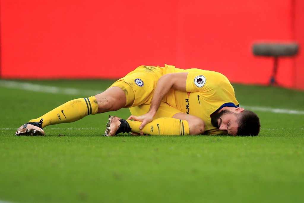 The injury woes are worsening for Chelsea. (Photo by Marc Atkins/Getty Images)
