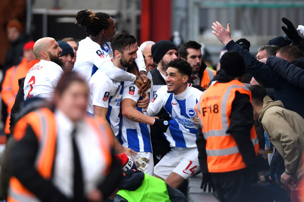 Can their FA Cup win signal the turnaround in Brighton's form? (Photo by Mike Hewitt/Getty Images)