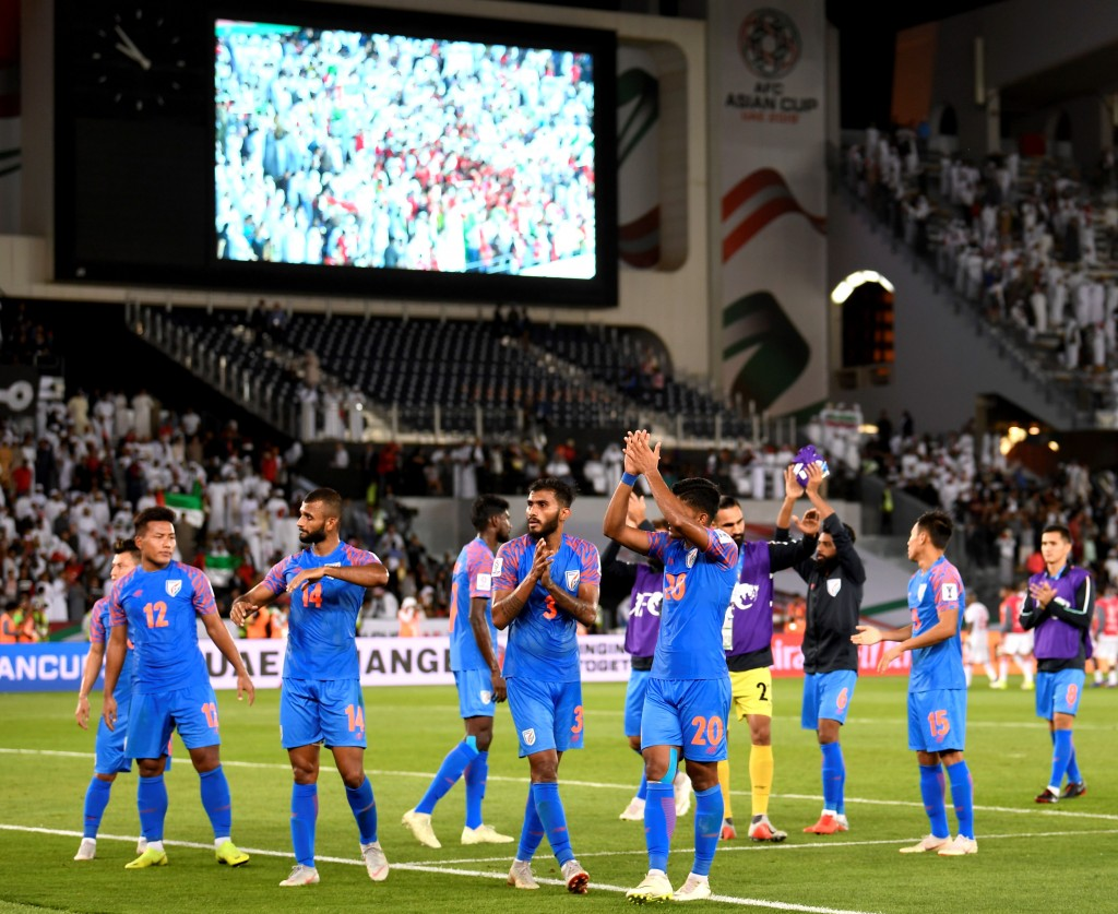Stephen Constantine will need to rally his troops following their 2-0 loss to UAE. (Photo by Khaled Desouki/AFP/Getty Images)