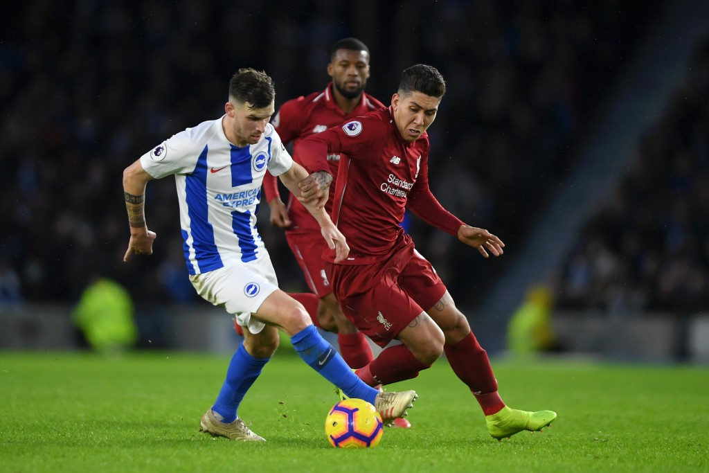 Firmino did not have the best of games on Saturday. (Photo by Mike Hewitt/Getty Images)