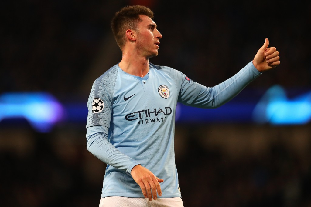 Aymeric Laporte is out with an injury (Photo by Michael Steele/Getty Images)